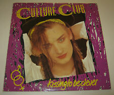 CULTURE CLUB LP KISSING TO BE CLEVER +INNER VERY GOOD+ 1982 V2232 BOY GEORGE