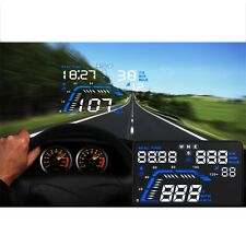 Q7 5.5 inch Car Head Up Display GPS Speed Warning System Fuel Consumption F7