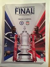 FA Cup Final Programme 2012. Chelsea V Liverpool