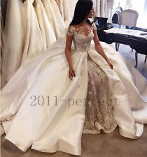hk763  New Robe de mariée mariage soirée wedding evening dress