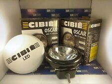 """Pair (x2) Of Black Cibié LED 7"""" Driving Lamps With White Cover 45307"""