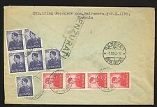 Russia: WWII Romanian occupation:1943 Red Cross cover from Odessa region -  READ