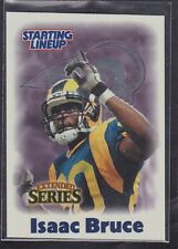 2000  ISAAC BRUCE  -  Starting Lineup Card - St. Louis Rams (EXTENDED)
