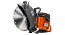 "New Husqvarna K760 Cut Off Saw w/ FLX 14"" Diamond Blade for Cured Concrete"