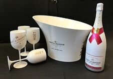 MOËT & CHANDON Ice Imperial rose set 1,5l Magnum 4 Gobelet + refroidisseur 12% vol.