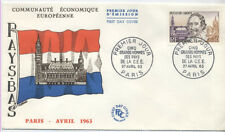 FRANCE FDC - 1386 1 HUGO DE GROOT - 27 Avril 1963 - LUXE