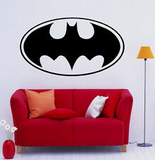 Batman Wall Vinyl Decals Dark Knight Sticker Comics Art Removable Decor (7jbat)