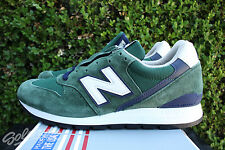 NEW BALANCE 996 SZ 8 HERITAGE MADE IN USA DARK GREEN NAVY WHITE M996CSL
