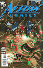 SUPERMAN ACTION COMICS #851 (3-D ISSUE) SIGNED BY ARTIST ADAM KUBERT