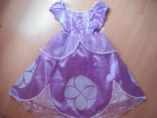 NEW Disney World Parks SOPHIA the 1st Girls DRESS S 6/6x Princess Costume FIRST