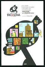 Bilbolbul - Festival Fumetto 2010 a Bologna - cartolina perfgetta