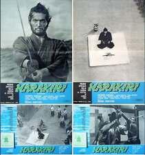 HARAKIRI SEPPUKU italian fotobusta photobusta movie posters x12 KOBAYASHI NM