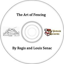 The Art of Fencing - 1904 - Vintage Book on CD - Learn how to Fence