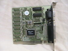 1 USED GENERIC ISA I/O CARD 1 PARALLEL AND 1 SERIAL PORT