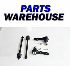4 Pc Kit Front Outer Inner Tie Rod Ends For Ford Mercury Mazda 1 Yr Warranty