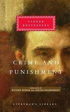 Crime and Punishment (Everyman's Library (Cloth))-ExLibrary