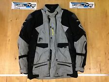 Helite Airbag Motorcycle Adventure Airbag Jacket Sz XL Grey