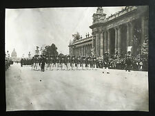 1931 PHOTO PARADE OF FRENCH SOLDIERS WHO TOOK PART IN 1900 CHINA BOXER REBELLION