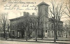 The Central School Building, Chillicothe OH 1906