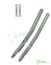 Implante Dental hueso de mano con 2 Hojas De Repuesto Raspador Cvd injerto óseo Ahorra £ 9