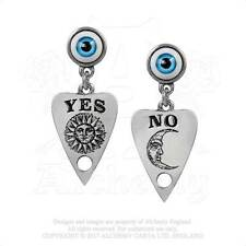 Ouija Planchette talking board Earrings Yes No Sun Moon By Alchemy Gothic