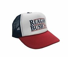 Reagan Bush '84 Campaign Adjustable Unisex Adult-one size Hat Cap