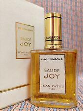 Vintage 1980s EAU DE JOY Jean Patou 1.5 oz 45 ml Eau de Parfum Spray OLD FORMULA