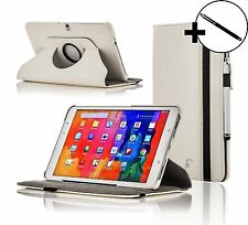 Leather White Rotating Case Cover for Samsung Galaxy Tab PRO 10.1 + Stylus
