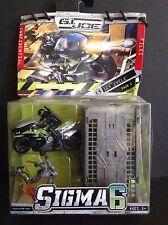 Gi Joe Sigma 6 Mission Sky Cycle Set 2006