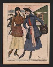 1917, Zeichnung von E. Heilemann Zusammenhänge. WWI