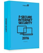 F-Secure Internet Security 2016 - 1 dispositivo PC-NUOVO-download