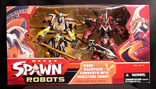 Manga Spawn Robots Deluxe 2 Figure Box set new 2004 McFarlane Toys