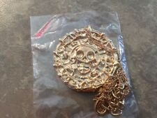 Pirates of the Caribbean Aztec Coin Pendant Necklace - Brand New And Sealed.