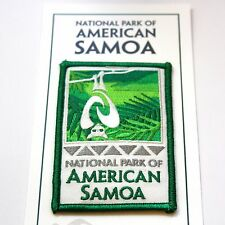 National Park of American Samoa Souvenir Patch Tutuila Ofu Ta'ū Pacific Ta'u