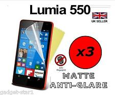 3x HQ MATTE ANTI GLARE SCREEN PROTECTOR COVER FILM GUARD FOR MICROSOFT LUMIA 550