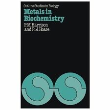 Metals in Biochemistry by R. J. Hoare and P. M. Harrison (1980, Paperback)