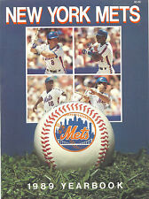 1989 METS Yearbook - A COLLECTIBLE WITH PRINT ERROR & COPY PASTE ON PAGE 68!