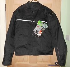 NEW WITH TAGS Frank Thomas PREDATOR Mens Padded Armour Motorcycle Jacket Size XL