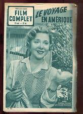 FILM COMPLET N°305: PIERRE FRESNAY. YVONNE PRINTEMPS: LE VOYAGE EN AMERIQUE 1952
