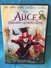 DISNEY, ALICE IN WONDERLAND:  THROUGH THE LOOKING GLASS, DVD, DEPP, HATHAWAY