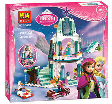 Aisha snow Castle Building toy  Frozen The girl's gift Fit lego no box #10435