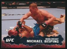 MICHAEL BISPING #43 2009 Topps UFC ROOKIE YEAR CARD