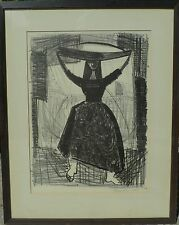 LENNART ROSENSOHN 1918-1994 LITHOGRAPHIE DATIERT 1955 /HANDSIGNIERT