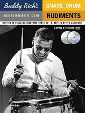 Buddy Rich's Modern Interpretation of Snare Drum Rudiments Book 2-DVDs 014005289