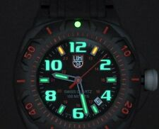 Luminox 0215.SL Sentry Black And Red Dial Bright Night Vision Illumination!