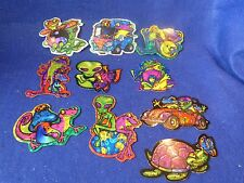 """Vintage Vending Machine Stickers """"FROG HEAVEN"""" 1999 Thirty (30) Stickers 3 Each"""