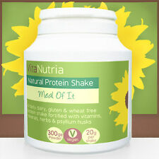 Meal of It - Natural Vanilla Vegan Meal Replacement Diet & Protein Shake Powder