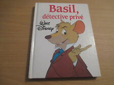 BASIL DETECTIVE PRIVE - WALT DISNEY - FRANCE LOISIRS