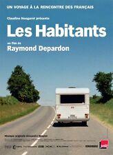Affiche 40x60cm LES HABITANTS (2016) Raymond Depardon - Documentaire NEUVE