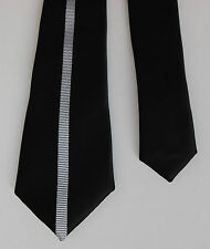 Charcoal skinny striped tie from NEXT narrow 2 inch tie Smart Business wear